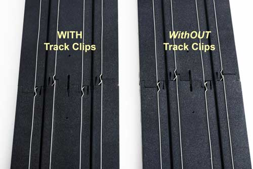 Track Clip 100 pack, AFX Slot Car Racing Item Number AFX1014