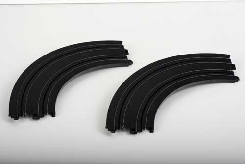 "9"" Radius 1/4 Curve Track (1:64), AFX Slot Car Racing Item Number AFX8623"