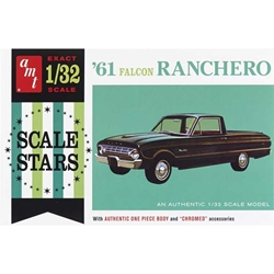 61 Ford Ranchero 1:32, AMT Plastic Model Kits Item Number AMT984