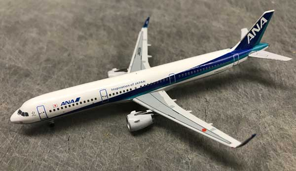 "ANA A321 JA132A ""Inspiration of Japan"" (1:400), AeroClassics Models Item Number AC19188"