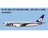 LOT Polish Airlines 767-200 SP-LOA (1:400) by AeroClassics Models Item Number: AC419521