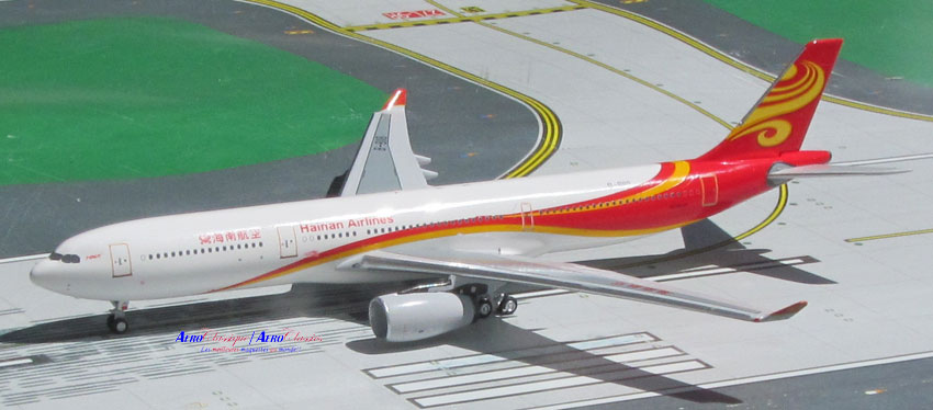 Hainan Airlines A330-300 B-8118 (1:400), AeroClassics Models Item Number ACCHH0516A