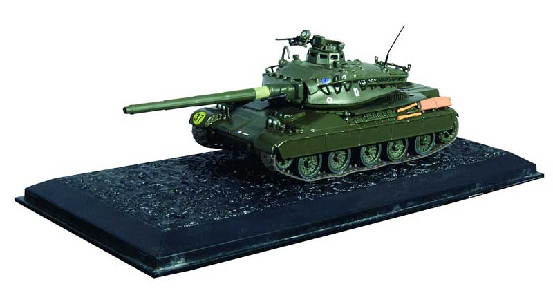 AMX-30B, French Army, 1982 (1:72), Amercom Diecast Item Number ACCS07