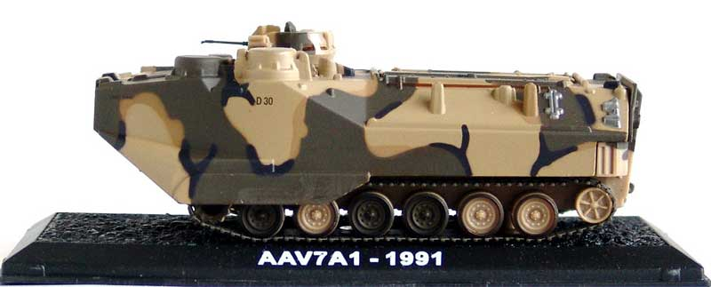 "AAV7A1 Assault Amphibious Vehicle, 15th Marine Expeditionary Unit, USMC, ""Operation Restore Hope,"" Somalia, 1993 (1:72), Amercom Diecast Item Number ACCS42"