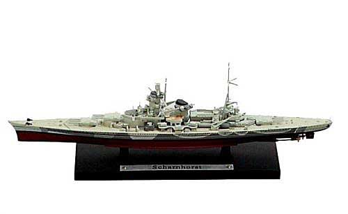 German Kriegsmarine battleship Scharnhorst (1:1250), Atlas Editions, Item Number ATL-7134-104
