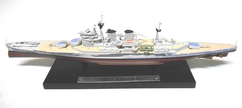 British Royal Navy battlecruiser HMS Renown (1:1250), Atlas Editions, Item Number ATL-7134-133