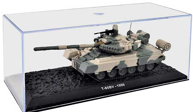 T-80BV Main Battle Tank 4th Guards Tank Division, Soviet Army, 1990 (1:72), Atlas Editions, Item Number ATL-7156-106