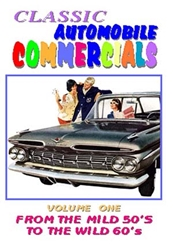 Classic Automobile Commercials, Volme One: From The Mild 50S To The Wild 60s (DVD), Non-Fiction Video Aviation DVDs Item Number DV595