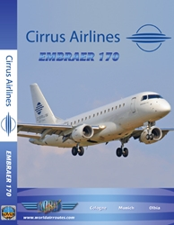 Cirrus Airlines Embraer 170 (DVD), Just Planes Aviation DVDs Item Number JPRUS2