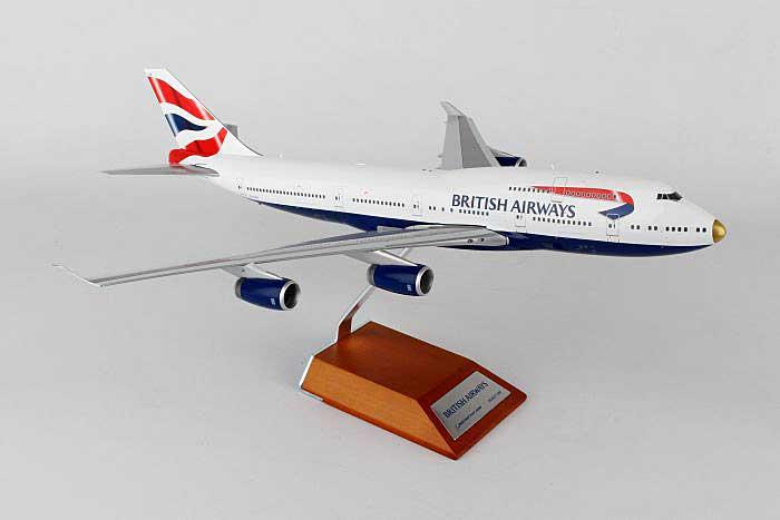 JC Wings Diecast Airliners - British Airways B747-400