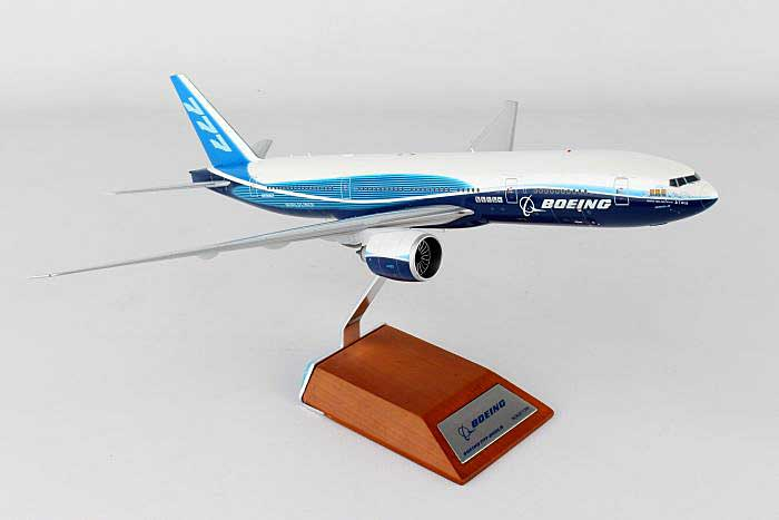 "Boeing House Colors 777-200 ""Zheng He"" Logo N6066Z (1:200), JC Wings Diecast Airliners, Item Number JC2BOE183"