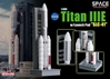 "Titan IIIE w/Launch Pad ""SLC-41"" (1:400), DragonWings Space Series Item Number DRW56342"
