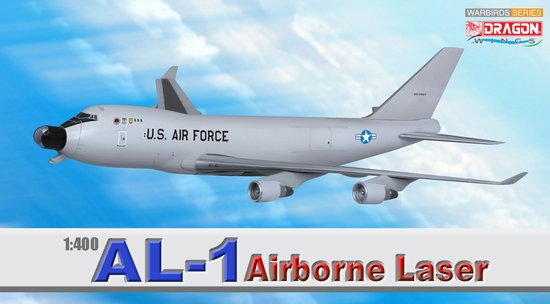 AL-1 Airborne Laser B747-400F (1:400), DragonWings 400 Diecast Airliners Item Number DRW56346