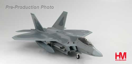 Hobby Master Diecast Airplanes - F-22 Raptor 302nd Fighter Squadron
