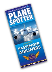 Plane Spotter Commercial Airliners Identification Guide, Plane Spotter Guides Item Number WAPSCOM