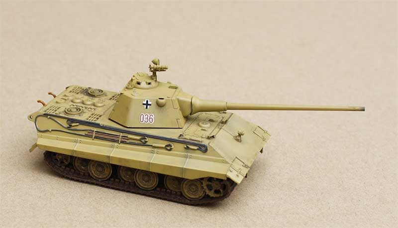 E-50 Medium Tank, German Army, 1945 (1:72), ModelCollect Item Number AS72025