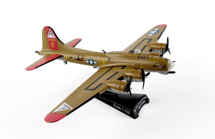 "USAAF B-17G Flying Fortress ""909"" (1:155) by Postage Stamp Diecast Planes item number: MP5402-3"