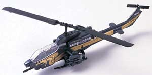 "AH-1W Super Cobra Helicopter (Approx. 6""), Motormax Diecast Item Number DC6-COB"