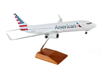 American 737-800 (1:100) New Livery by Skymarks Supreme Desktop Aircraft Models item number: SKR8244