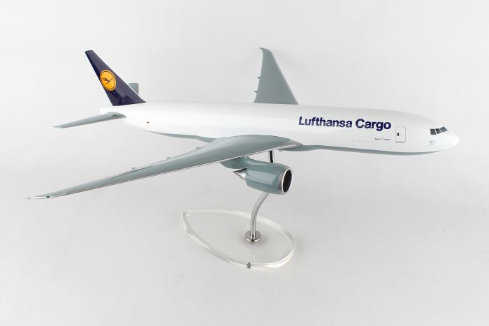 Lufthana Cargo 777F (1:100) by Skymarks Supreme Desktop Aircraft Models item number: SKR9100