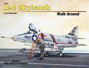 A-4 Skyhawk Walk Around (SC), Squadron Signal Publications Item Number SS25041