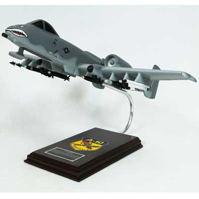 A-10A Thunderbolt Warthog (1:40), TMC Pacific Desktop Airplane Models Item Number CA10TE