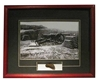 Civil War Parrott Cannon Framed photograph Matted to include authentic cannon fragment, Century Concept International Item Number CC1420