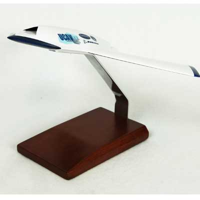 X-45B UCAV Grey (1:48), TMC Pacific Desktop Airplane Models Item Number CX45TR