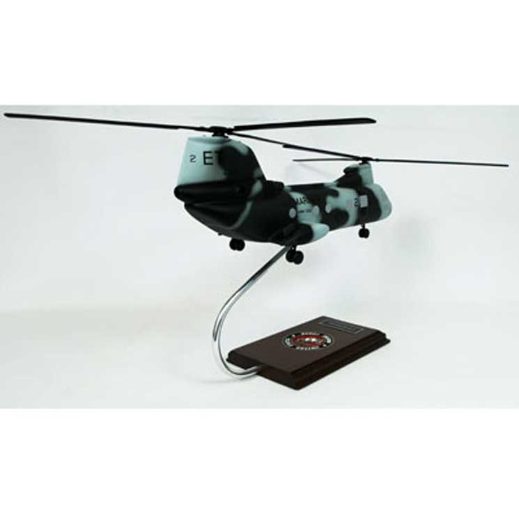 CH-46 Marines (1:55), TMC Pacific Desktop Airplane Models Item Number HC46