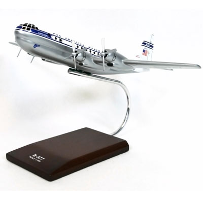 B-377 Stratocruiser PAA (1:100), TMC Pacific Desktop Airplane Models Item Number KB377T