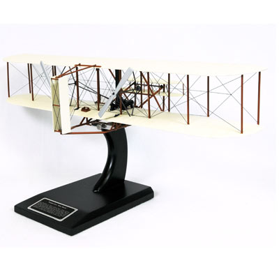 "Wright Flyer ""Kitty Hawk"" (1:24), TMC Pacific Desktop Airplane Models Item Number KWFTE"