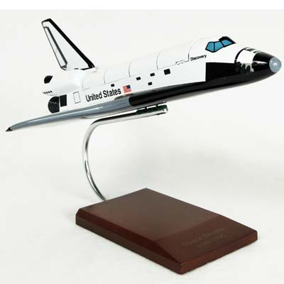 Orbiter (L) Discovery (1:100), TMC Pacific Desktop Airplane Models Item Number KYNASAO2T