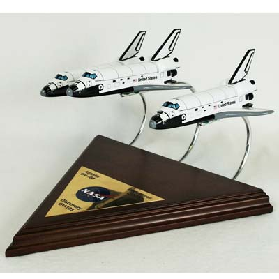 Active Shuttle Collection (1:200), TMC Pacific Desktop Airplane Models Item Number KYNASAO3C