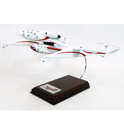 Space Ship One with Mothership (1:40), TMC Pacific Desktop Airplane Models Item Number KZSS1CT