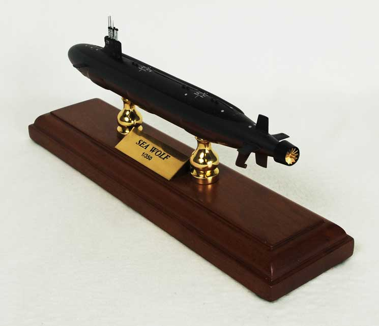 Seawolf Class Submarine (1:192), TMC Pacific Desktop Airplane Models Item Number MBSSC1