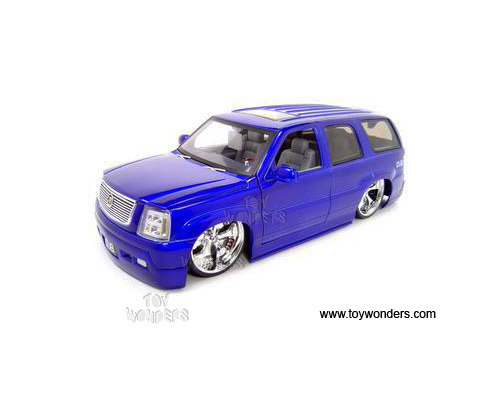 Jada Toys Dub City Cadillac Escalade Suv 2002 1 18 Purple