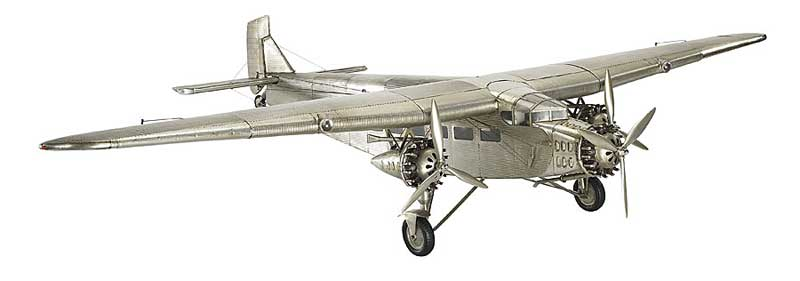 "Ford Trimotor (40"" Wingspan), Authentic Models Item Number AP452"
