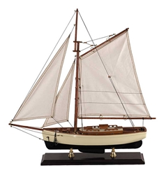 1930s Classic Yacht, Small, Authentic Models Item Number AS134