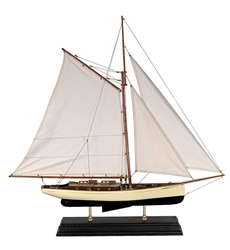 1930s Classic Yacht, Large, Authentic Models Item Number AS135