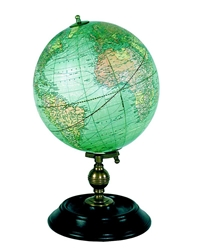 1921 USA Globe, Weber Costello, Authentic Models Item Number GL026