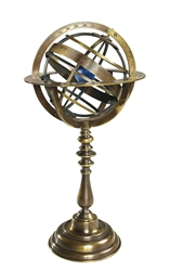 Bronze Armillary Dial, Authentic Models Item Number GL052
