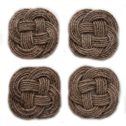 Coaster s/4 (Natural Rope), Authentic Models Item Number HD003