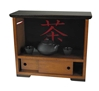 Travel Tea Cabinet, Authentic Models Item Number MF147