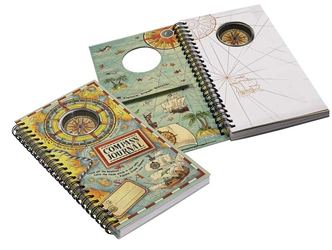 Compass Journal, Authentic Models Item Number MS010A