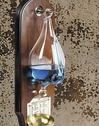 Weather Glass, French Finish Wood Wall Plaque, Authentic Models Item Number WG011F