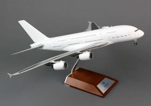 Blank White A380 (1:200), JC Wings Diecast Airliners, JC2WHT105