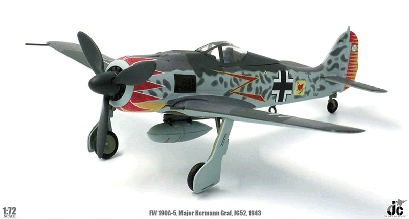 Easy Model 36403-1//72 WWII Focke Wulf fw-190a-6-1943-nuevo