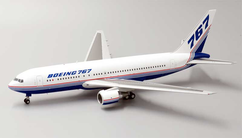 "Boeing B767-200 ""House Colors"" N767BA (1:200) - Special Clearance Pricing, JC Wings Diecast Airliners, LH2110"
