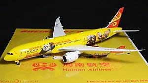 "Hainan ""Panda 3"" B787-9 B7302 (1:200) - Special Clearance Pricing, JC Wings Diecast Airliners, XX2195"