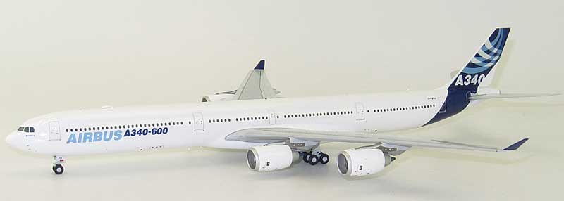 "Airbus A340-600 F-WWCA ""Airbus House Color"" (1:200) - Special Clearance Pricing, JC Wings Diecast Airliners, XX2333"
